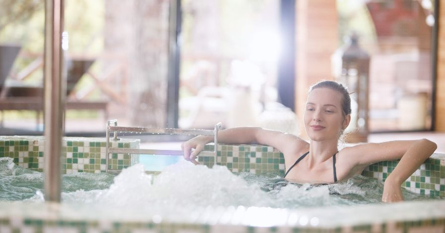 hot tubs offer many health benefits.