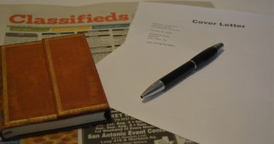 Journal, newspaper and cover letter